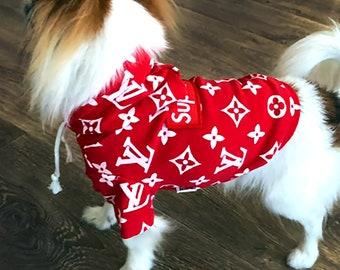 Supreme lv hoodie   Etsy