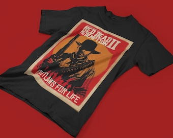 4b5dc252f86 New Red Dead Redemption 2 custom T-Shirt