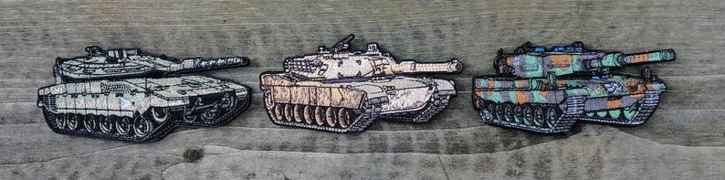 M1A1 ABRAMS Morale patch Panzer Tank  Vehicle Army Battle Hook and loop USA American