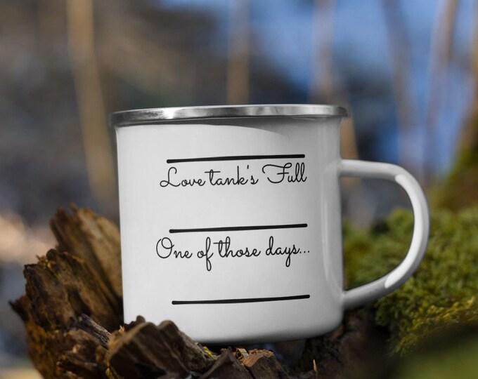 Love Tank Enamel Mug