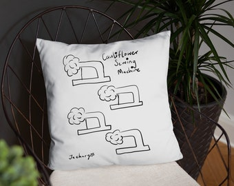 Stitch in time Basic Pillow