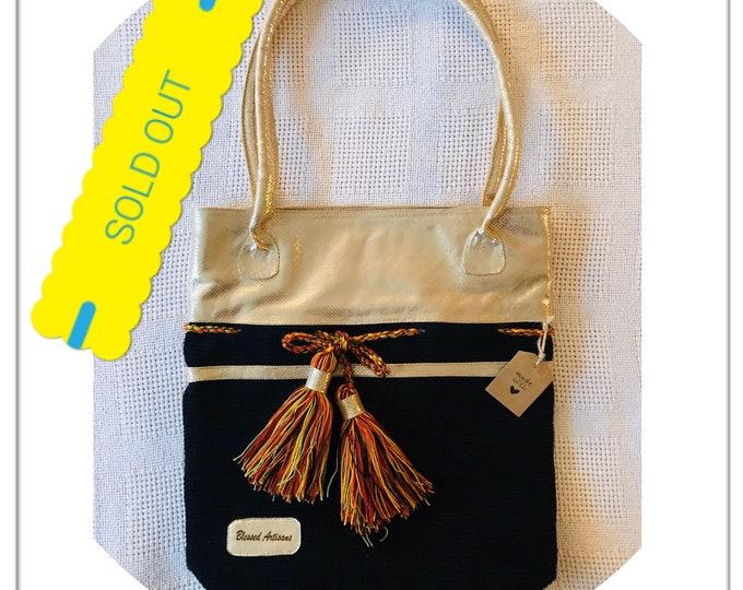 Wayu Social Project Glitter bag