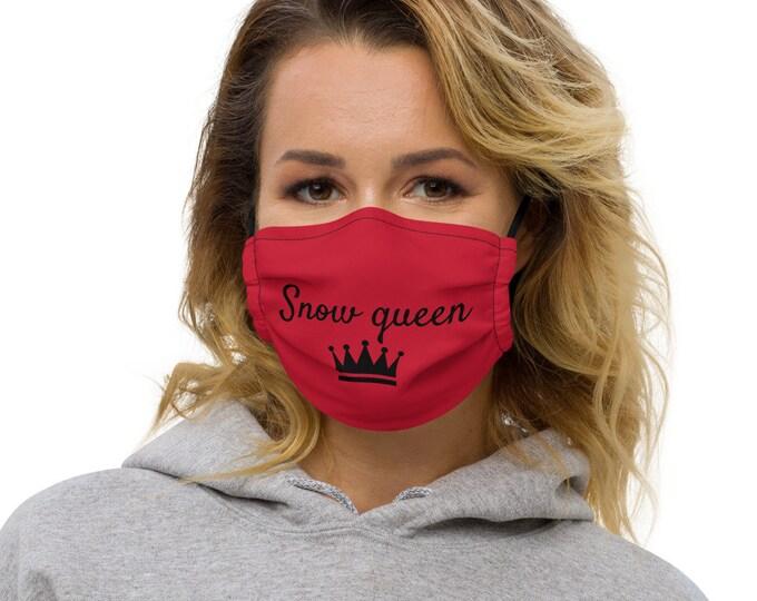 Snow queen Face mask
