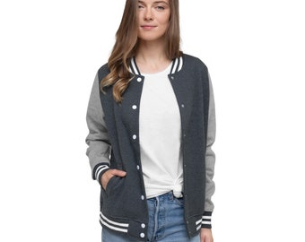 Awesome Women's Letterman Jacket