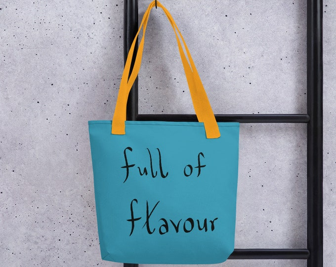 Flavoured Tote bag