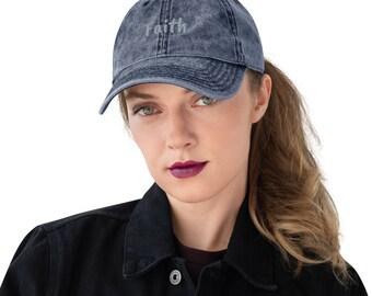 Believe Vintage Cotton Twill Cap