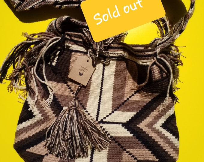 Sold out***Wayu Social Project Earth bag