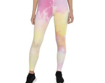 Colour Burst Tie & Dye Leggings