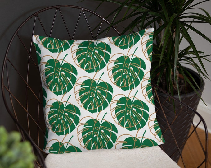 Leafy notions Basic Pillow