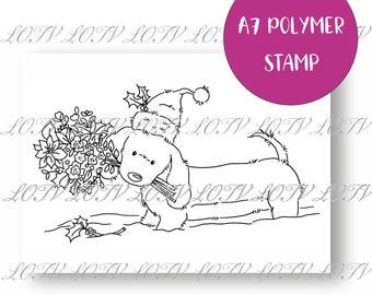 LOTV Polymer Stamp - IH - Yule Dog