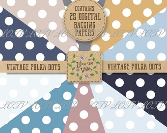 Digi Backing Paper Sets