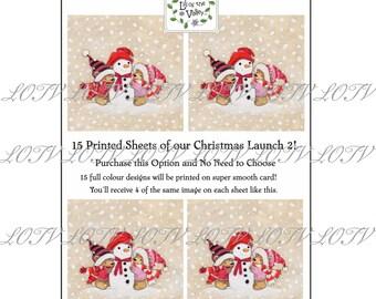 A4 Printed Sheets