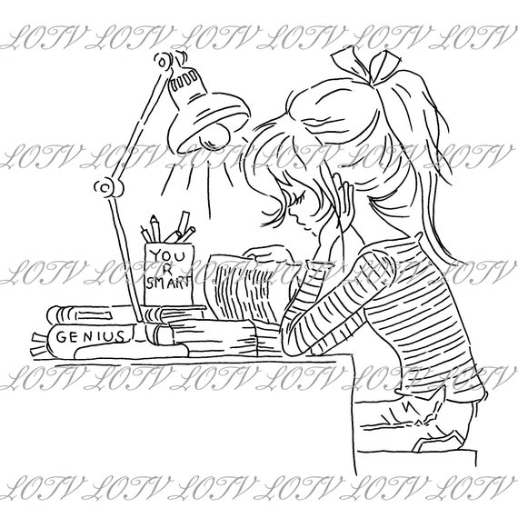 Digital Jasmine Phone Teenager Birthday JPEG Girls Lili of the Valley Digi Stamp Female AS