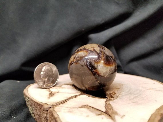 Dragon Stone from Madagascar Septarian Sphere 52mm