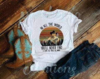 d188e83e George Strait  Bella Canvas T-Shirt  Cowgirl  Concert T Shirt   Country  Music