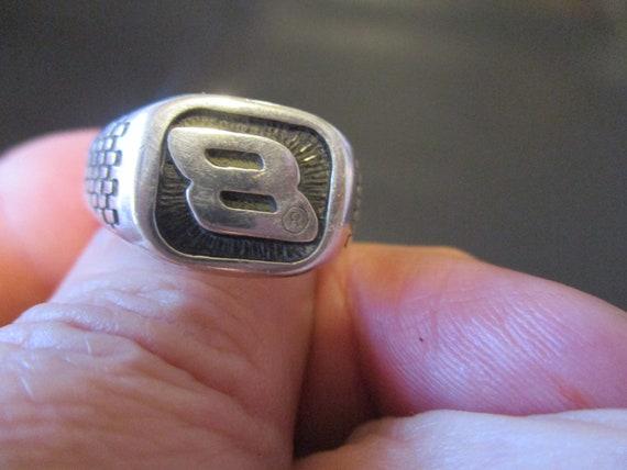 "Sterling Silver ""NASCAR"" Ring. - image 9"