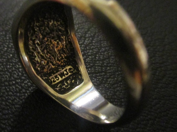 "Sterling Silver ""NASCAR"" Ring. - image 4"