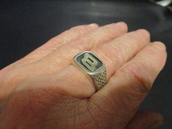 "Sterling Silver ""NASCAR"" Ring. - image 6"