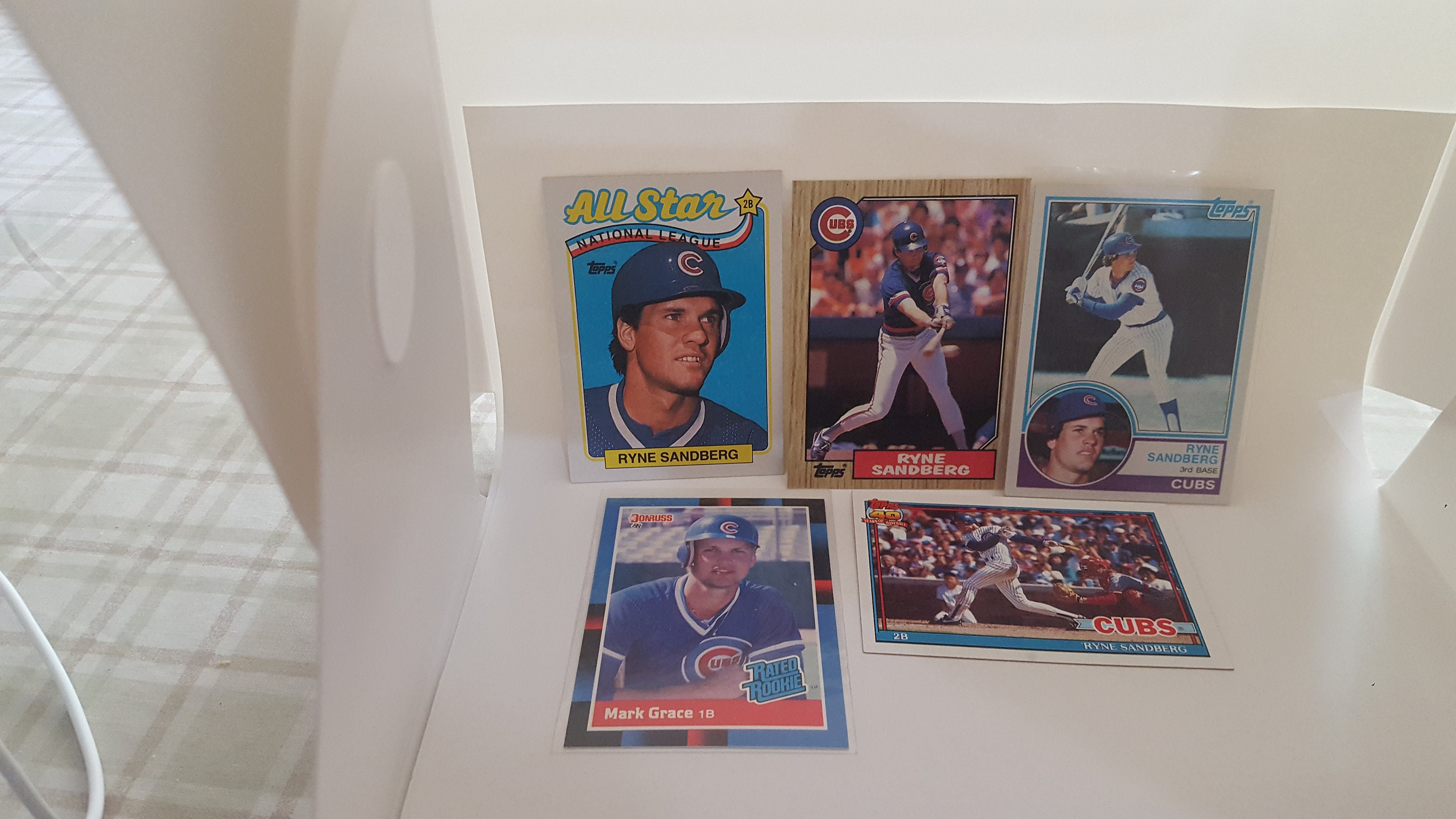 Sandberg And Grace Rookie Cards And More Psa 9