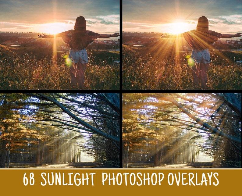 Sunlight overlays:Sun Lens Flare Overlays, Rainbow overlays photoshop  overlays, Sun Effect, Sunlight Rays, Digital Backdrop PNG format