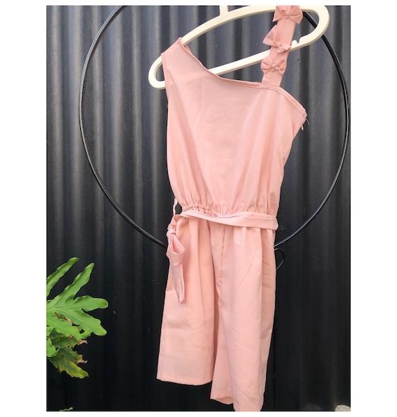 Vintage Pink Romper/Playsuit