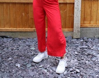 No-split fisherman's trousers