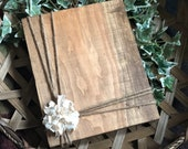 Rustic Wood Picture Holder