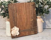 Rustic Photo Holder Home Decor