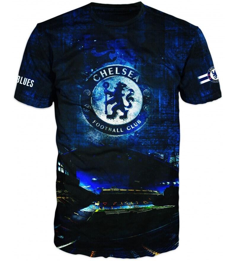 Nouveau T-Shirt de ultra de T-Shirt 3D moderne de qualité 6151 # Chelsea 9e3000