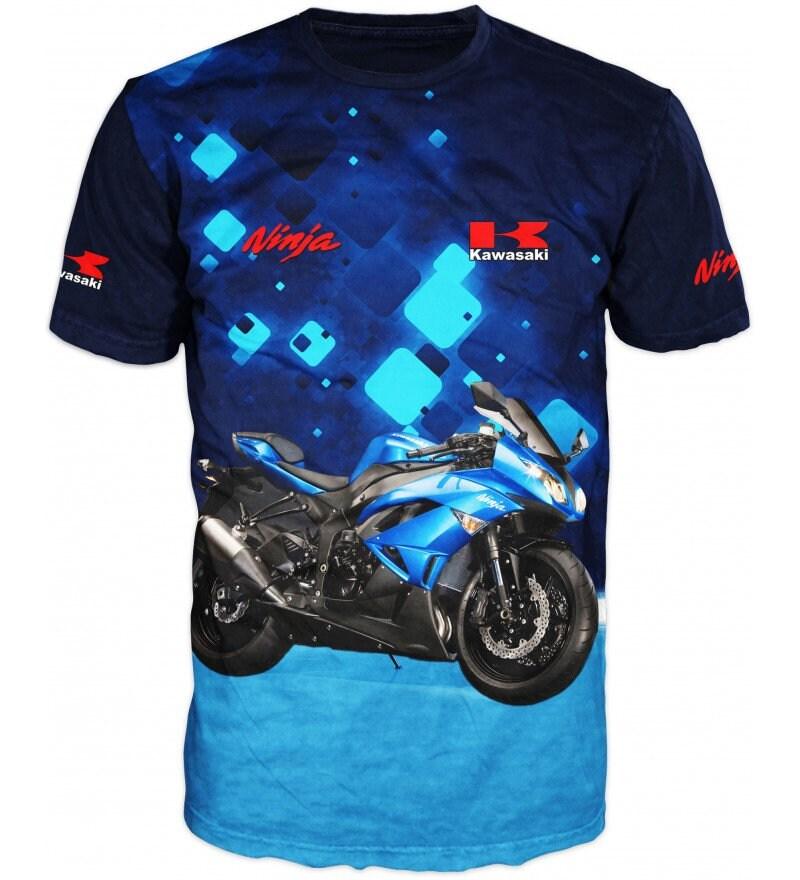 Nouveau T-Shirt 3D ultra moderne ultra 3D haute qualité de course de moto équipe #4017 03cda7