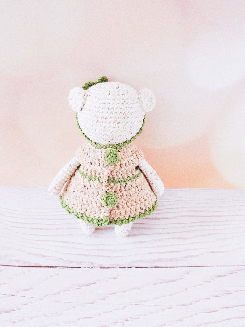 Crochet Bear Handmade toys Teddy Bear Amigurumi  Nursery Decor Newborn gift Birthday gift Child gift  Plush Animal girl bear christmas toy
