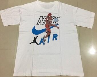 6ab3ab69ff8f Nike Air Jordan Bart Simpson Vintage T-Shirt Rare