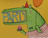 Monster Party invitations, Birthday, Party, Celebrations, Party invitations, Children's birthday, kids party invites.