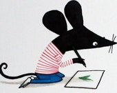 Little Mouse A5 Giclee pr...