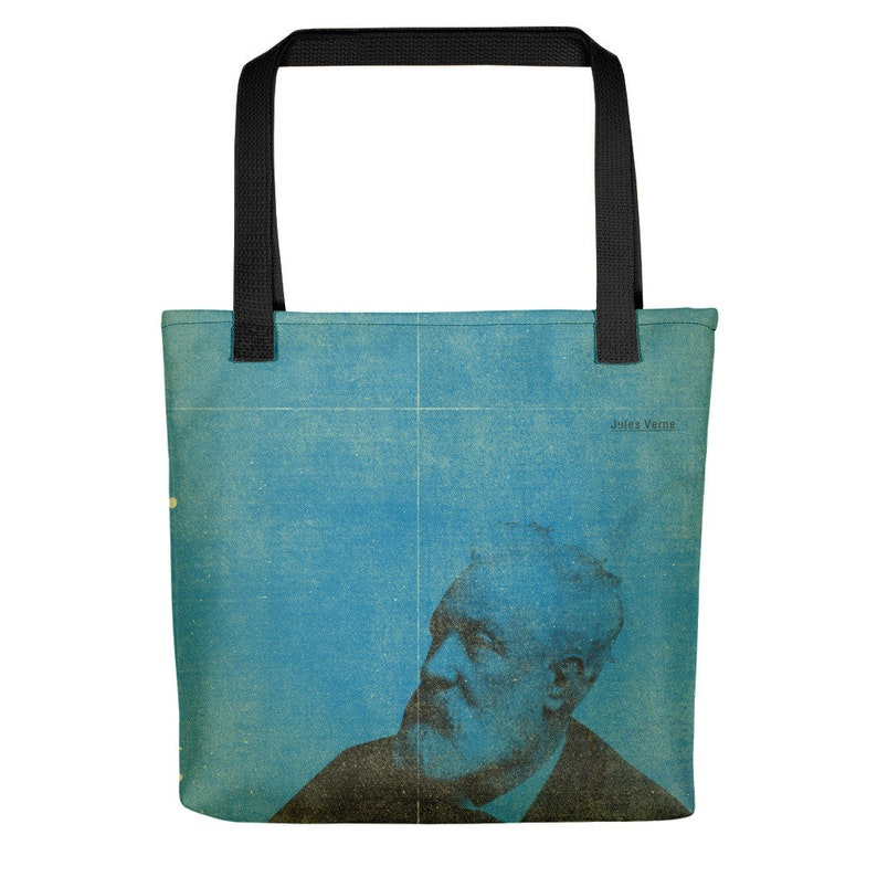 Literature Novelist Writing Legend Iconic Writers Jules Verne Retro Colorful Vintage