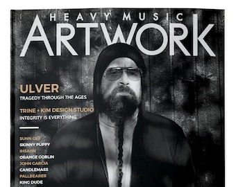 Heavy Music Artwork #5 Ulver, Sun O))), Skinny Puppy, Wolves In The Throne Room, Tombs, Ghost Bath, Candlemass, Ihsahn and more
