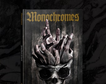 Heavy Music Artwork Monochromes 2018 Alice In Chains, Watain, Immortal, Sodom, Paradise Lost, Drug Cult, Nocturnal Graves, LLNN and more.