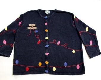 Vintage Cat Sweater Etsy