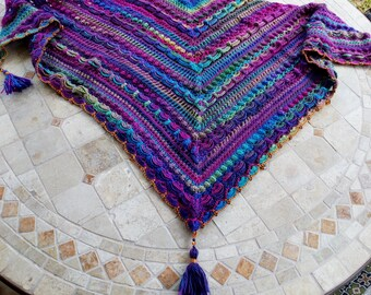 Lost In Time Shawl Etsy