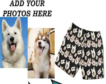 Custom Photo Pajamas Pajama Shorts | Personalized Face Boxer Shorts | Custom Shorts Photo Pajama | Custom Swim Trunks | Custom Dog Shorts