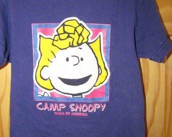 a6af3fcbcd Vintage Camp Snoopy MOA Mall of America Peanuts Snoopy shirt Sally Charlie  Brown 2 4 Kids