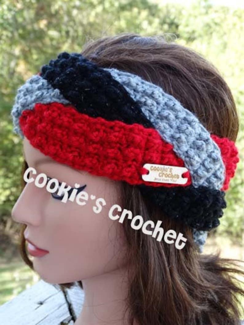 Crochet Pattern Braided Loblolly Ear Warmer Headband Crochet Etsy