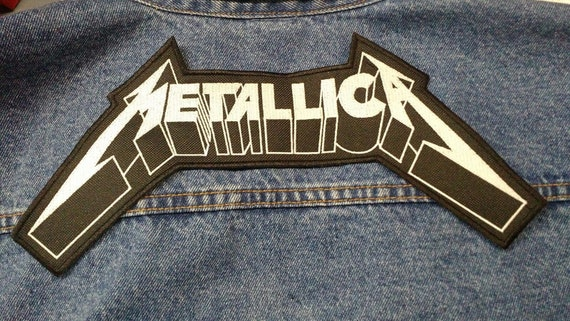 Metallica Embroidered patch NEW USA Seller Fast Delivery Slayer Thrash Metal