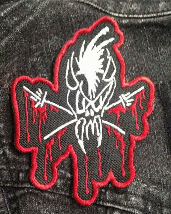 METALLICA Patch GLOW-IN-THE-DARK Embroidered Patch USA Seller Thrash Metal