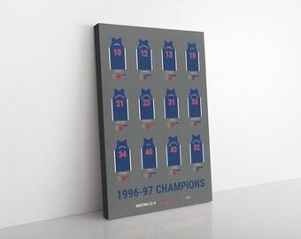 Arizona Wildcats 1997 Men's Basketball Champions Canvas/Print