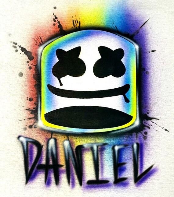 T shirt Marshmellow DJ (volwassenen en kind size)