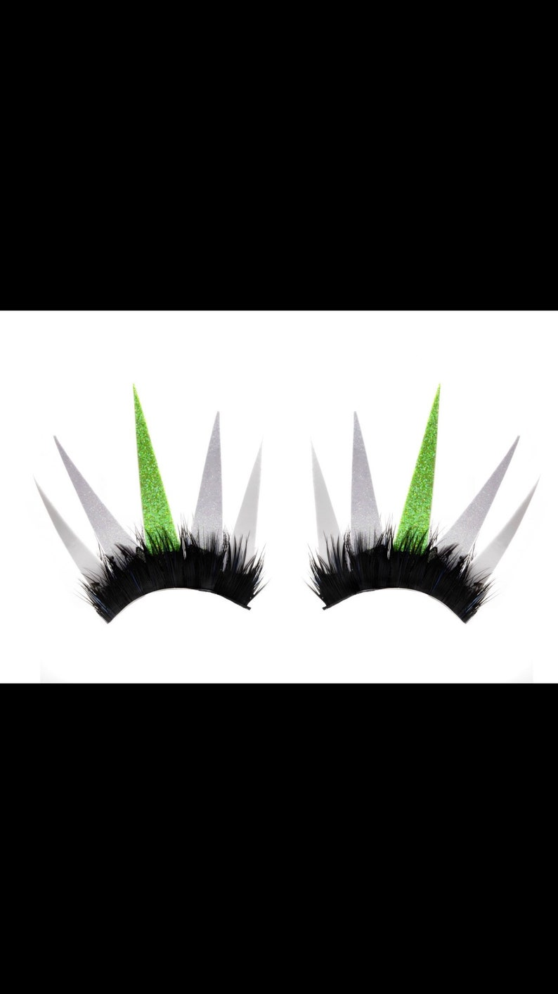 Tinkerbell custom made paper lashes perfect for halloween image 0