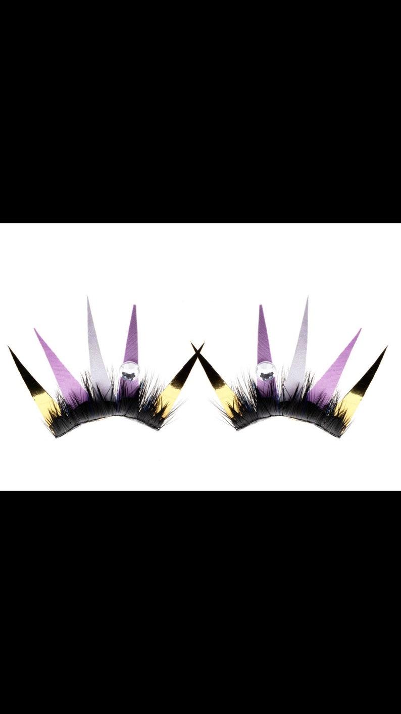 Princess paper lashes image 0