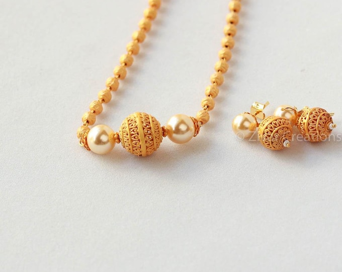 indian jewellery Matte Finish Necklace short necklace