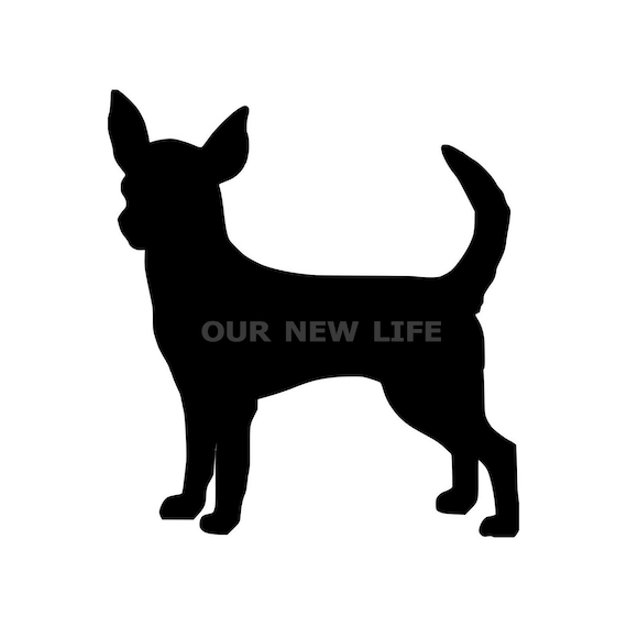 Chihuahua Sticker Decal Vinyl dog canine pet